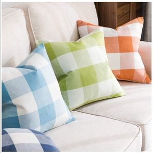 Buffalo Checker Throw Pillow Covers Accent Pillows